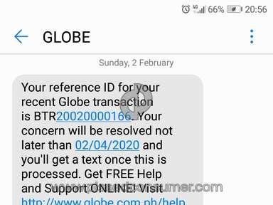 Globe Telecom Customer Care review 513415