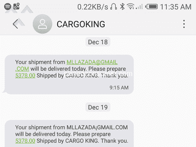 Lazada Philippines Delivery Service review 356880