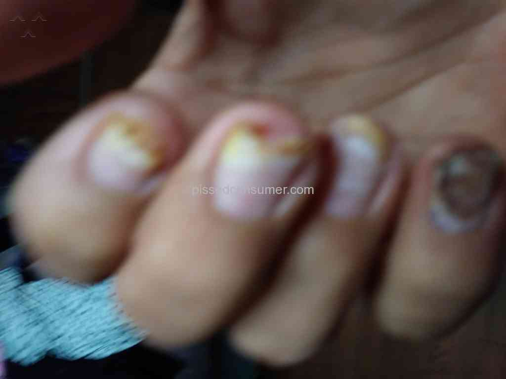 Regal nails horrible and painful