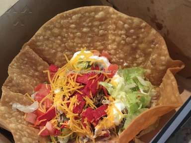 Taco Bell - Taco Salad Review