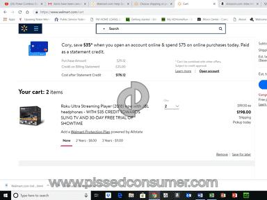Walmart Website review 349673