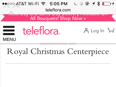 Teleflora Royal Christmas Centerpiece Bouquet review 183948