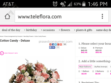 Teleflora Flowers review 71021