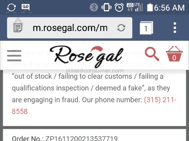 Rosegal - Review in Footwear and Clothing category