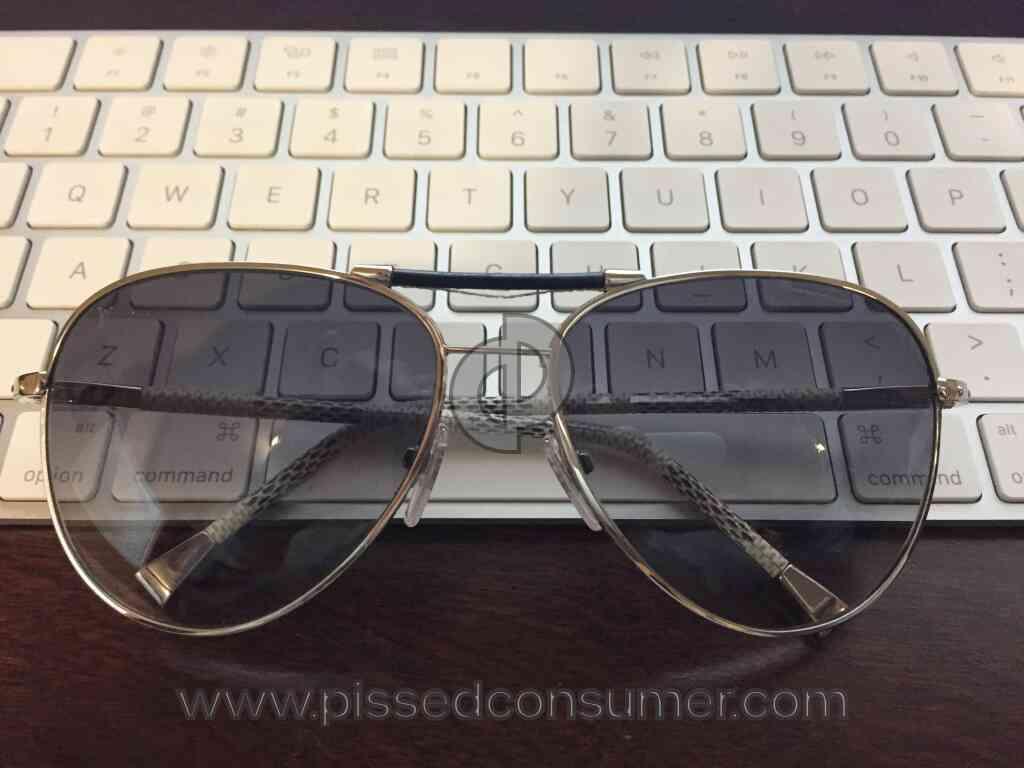 24bb6253d5 2 Louis Vuitton Sunglasses Repair Reviews and Complaints   Pissed ...