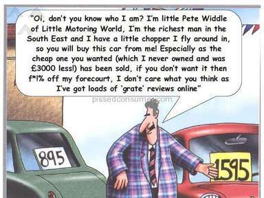 Big Motoring World, Used Car Advertising Scam, Bait and Switch, Cars don't exist!