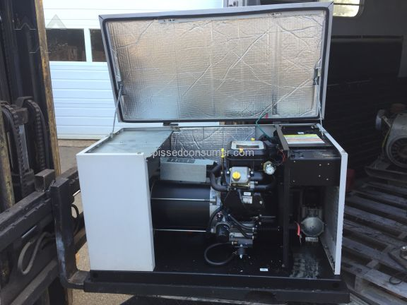 Generac Power Systems Generator