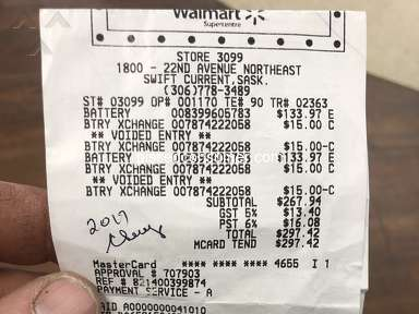 Walmart Car Battery review 359780