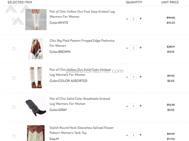 Twinkledeals Clothing review 132601