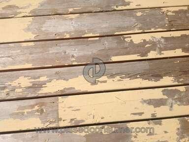 Behr Deckover Deck Paint review 310460