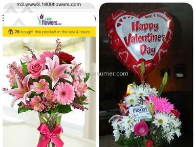 1800Flowers Flowers review 61893