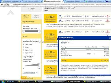 Edreams Flight Booking review 88107