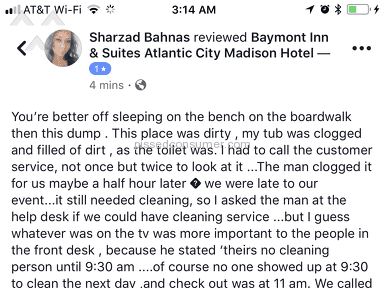 Baymont Inn And Suites - Sleep on the bench in the boardwalk then this dump