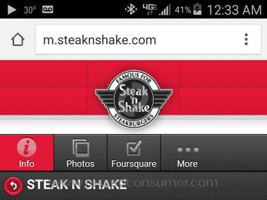 Steak N Shake Fast Food review 117923