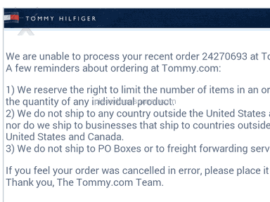 Tommy Hilfiger Fashion review 50899