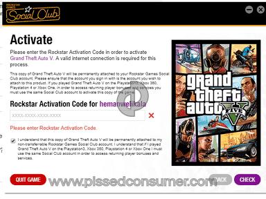 Rockstar Games Account review 339534