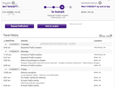 Fedex - Total disappointment