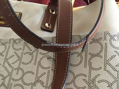 Calvin Klein - Teodora Monogram Tote Handbag Review from Brentwood, New York
