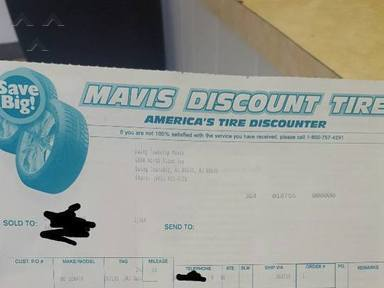 Mavis Discount Tire Car Repair review 196376