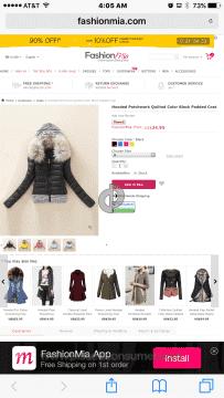 Fashionmia Coat