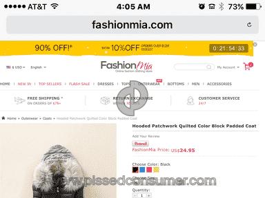 Fashionmia Coat review 184460