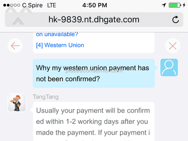 Dhgate - Fraud
