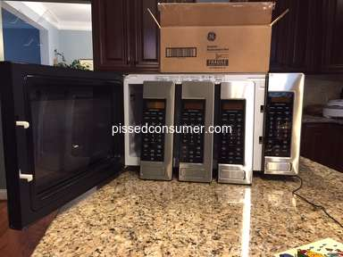 Ge Appliances - GE Monogram Microwaves - non-functional; not worth the $
