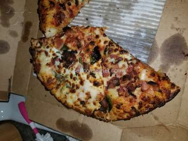 Dominos Pizza - Unsatisfied order and correction of order by manger