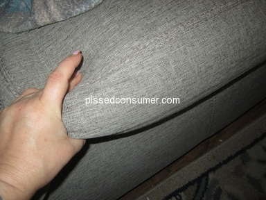 Slumberland Furniture - Run around on my 3rd set of cushions