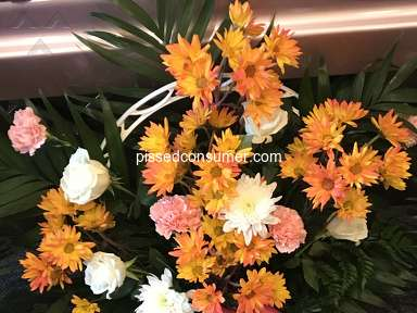 Avasflowers Pink And White Sympathy Arrangement review 385156