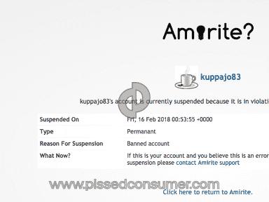 Amirite Account review 266352