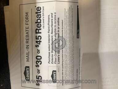 Lowes Rebate review 490183