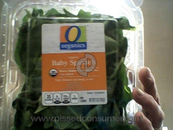 O Organics Spinach