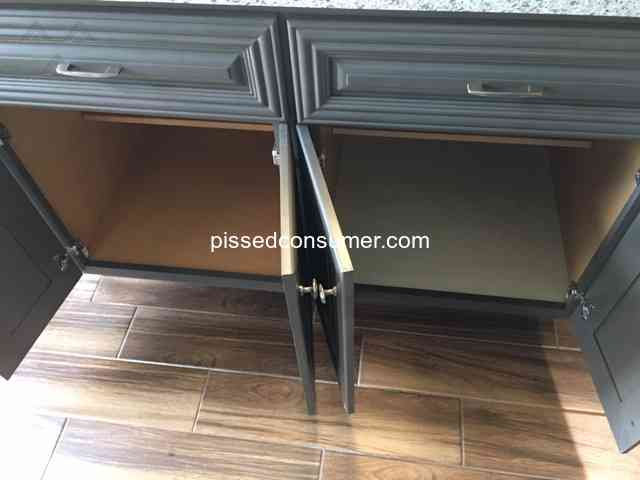 Cabinets To Go Long Shipping Dates And Cabinet Manufactured Wrong