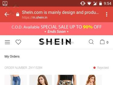 Sheinside - Nonsense website . Frauds