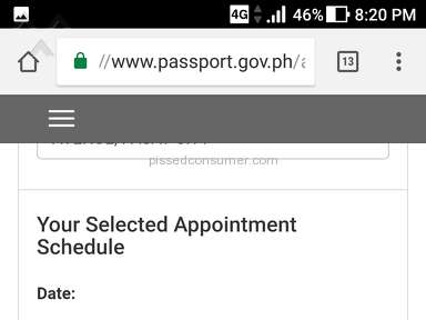 Dfa - APPOINTMENT CODE