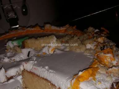 Hy Vee - Cake Review from Omaha, Nebraska