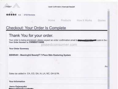Meaningful Beauty Shipping Service review 202468