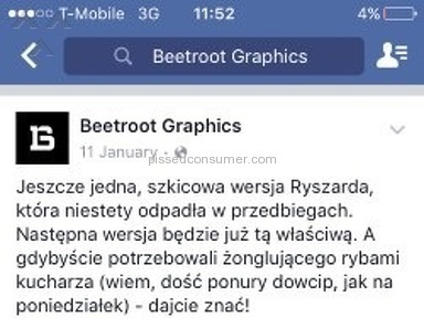 Beetroot Graphics Logo Design review 143960