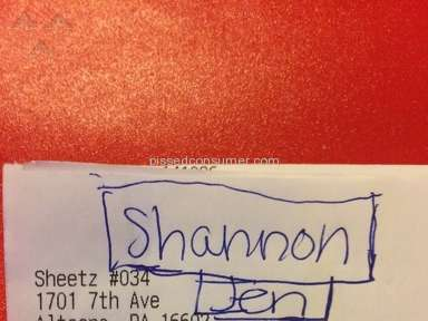 Sheetz - Manager Review from Altoona, Pennsylvania