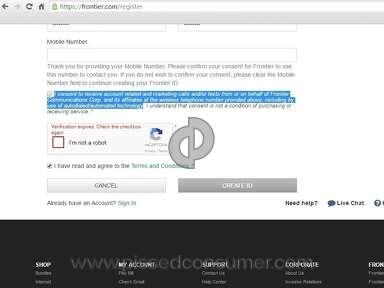 Frontier Communications Bundle review 123111