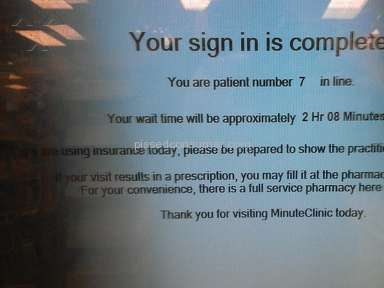 Minute Clinic Hospitals, Clinics and Medical Centers, Doctors review 39551