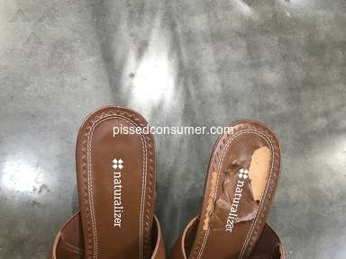 Naturalizer Shoes - Poor quality.