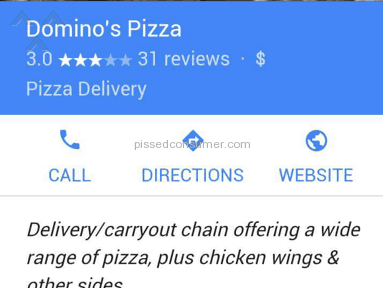 Dominos Pizza Pizza review 110953