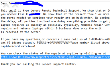 Lenovo - Worst Customer Service Ever