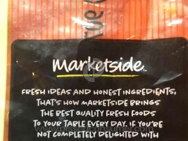 Marketside - Fresh/not at all!!