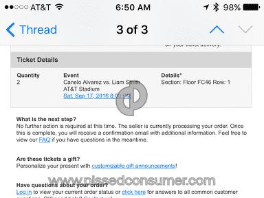 Vivid Seats Canelo Alvarez Vs Liam Smith Event Ticket review 161764