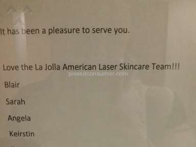 American Laser Skincare Beauty Salons and Spas review 54141