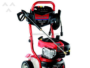 Troy Bilt - Troy-Bilt 3000-PSI 2.7-GPM Carb Compliant Cold Water Gas Pressure Washer
