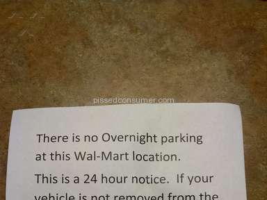 Walmart Parking review 182538